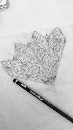 Islamic Art Pattern, Arabic Pattern, Pattern Art, Illumination Art, Jewelry Illustration, Turkish Art, Arabic Art, Islamic Art Calligraphy, Mandala Drawing