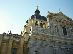 Cathedral in Madrid, Spain