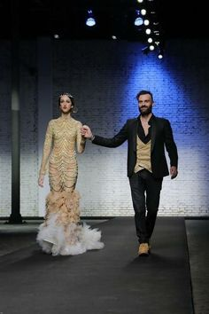 THE LOOK OF THE YEAR - Fashion and Models - ALTAROMA - Luciano Fiore Couture