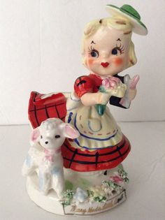 Vintage Mary Had A Little Lamb by TMJ by SnickKnacks on Etsy, $25.00