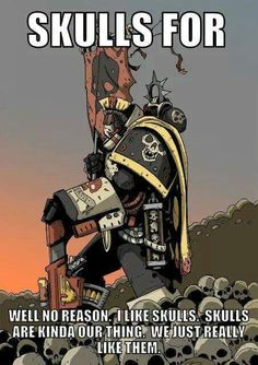 Dawn of War Warhammer 40k Memes, Warhammer Art, Warhammer 40k Miniatures, Warhammer Fantasy, Warhammer 40000, Video Games Funny, Funny Games, Funny Animal Jokes, The Grim