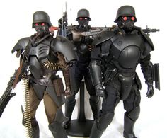 KERBEROS Panzer Cop Customs (Updated 11/29/08) (Pic Heavy) - OSW: One Sixth Warrior Forum