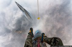 OnTheRoofs Shanghai Tower with Two Russian Daredevils