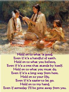 I absolutely love this - a most beautiful expression of gratitude - Native american quotes