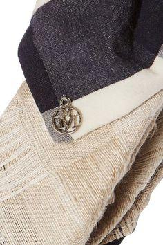 Maison Michel - Tali Bow-embellished Jacquard Headband - Beige - One size
