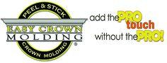 Room Kits BOGO SALE 24 pre-cut inside corner - 4 outside c – Easy Crown Molding Easy Crown Molding, Crown Molding Installation, Plastic Moulding, Moldings And Trim, Crown Moldings, Trim Work, Diy Network, Hacks, Woodworking Tips
