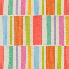 Buy VARIETY SHOW BRIGHTS by Kravet - Made-to-Order designer Textiles from Dering Hall's collection of Stripe Fabric