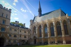 Exeter College, Tolkien's undergraduate college in Oxford. Photo by Scott Jeschke
