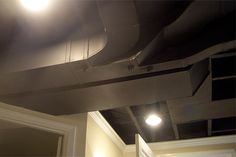 options for covering low basement ceilings - Google Search