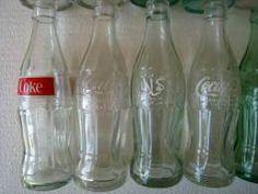 Coca Cola 14 Bouteilles En Verre, Années 1970-1980, De Différents Pays