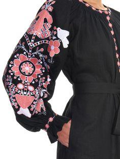 Tree of Life embroidered linen dress | Vita Kin | MATCHESFASHION.COM UK
