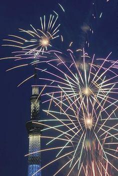 Sumida River Fireworks Festival 2012 : Yomiuri On-Line