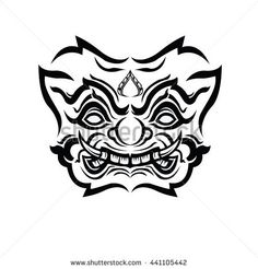 stock-vector-thai-giant-vector-441105442.jpg (450×470)