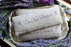 Make Your Own Linen & Lavender Eye Pillow
