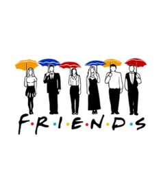 Welcome to Bonestudio, home of the funniest and popular tee's online.Friends Umbrella Design T Shirt is your new tee will be a great gift for him or her. Friends Moments, Friends Series, Friends Tv Show, Friends Sketch, Drawings Of Friends, Tattoo Tv Shows, Friends Poster, Friend Cartoon, Mom Jokes