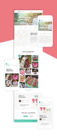 Sweet Catering - Branding & Webdesign on Behance
