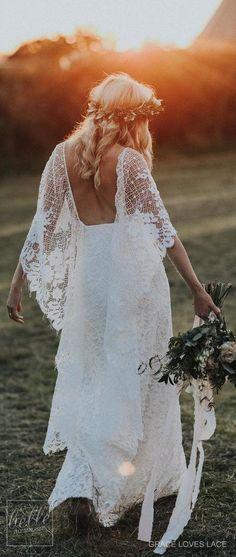 Wedding Dresses : Rustic Wedding Dress by Grace Loves Lace Wedding Dresses Near Me, Long Sleeve Bridal Dresses, Cheap Wedding Dresses Online, Rustic Wedding Dresses, Lace Mermaid Wedding Dress, Mermaid Dresses, Bridal Gowns, Wedding Gowns, Ivory Wedding