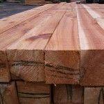 Cedar lumber: 4-by-4