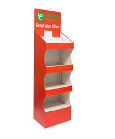 This FSDU is one of our existing 4 shelf designs - We have a range of existing tools which allows us to offer our clients a cost efficient option with a super-fast turnaround! We can take on a project from concept; designing, prototyping & art-working, through to printing, packing and delivering – direct to store! For more info on our cardboard displays and large format print get in touch @ www.kentoninstore.co.uk or drop us an email: info@kentoninstore.co.uk