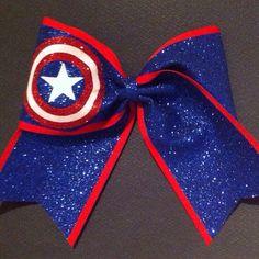 Glittery Captain America