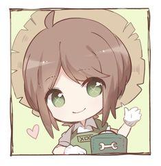 Identity V Gardener V Chibi, Kawaii Chibi, Cute Chibi, Anime Chibi, Kawaii Anime, Chibi Characters, Cute Characters, Cartoon Drawings, Cool Drawings