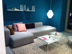 Hay table, mags sofa