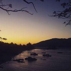 Coucher de soleil sur l'île de Nosy Komba #Madagascar #voyage #travel by chris_voyage #travel