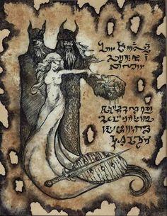 Risultati immagini per necronomicon Hp Lovecraft, Lovecraft Cthulhu, Ange Demon, Demon Art, Eldritch Horror, Lovecraftian Horror, Satanic Art, Dark Artwork, Magic Symbols