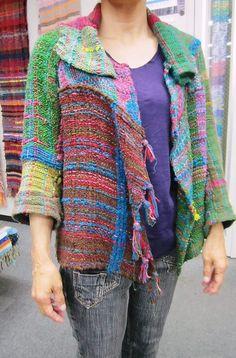 手織適塾さをり 横浜通信 -さをり織り情報ブログ  週末の教室風景♪
