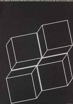 arte e didattica - genova - teatro del falcone - 1979