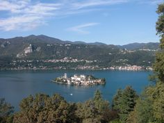 The beautiful island of San Giulio - lake Orta An enchanting corner of Italy not to be missed