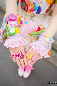 #kawaii #pastel #decora | Tokyo Street fashion | Pinterest
