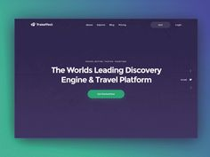Hey folks! I would like to present our new work, created with Zajno Studio. This is a landing page for cool upcoming cross-platform travel app that we are working on. If you want to show your...