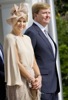 Prince Willem-Alexander and Princess Maxima, soon to be King and Queen of The Netherlands