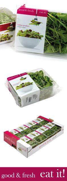 Eat it! Products, Prodotti Eat it #salad #carton #box #vassoi #cartone #packaging