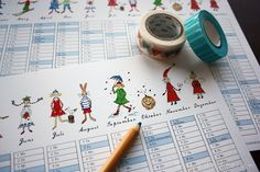 "Calendar Gnomies & Friends 2020 by Ladedesign ♥ Yippee! Ladedesign Calendar ""Gnomies & Friends"" 2020 ♥ Size/Dimensions/Weight Calendar DIN 420 x 594 mm x inch © Ladedesign by Andrea Schulz Friends, Illustration, Design, Graphic Prints, Calendar, Amigos, Illustrations, Design Comics, Boyfriends"
