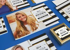 Celebrate your graduate in style with personalized graduation announcements, party invitations, and thank you cards. Find an A+ design for your student's personality.