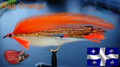 Fly Tying Patterns, Streamers, Fly Fishing, Wings, Rap, Orange, Feather, Fishing, Bunting Bag
