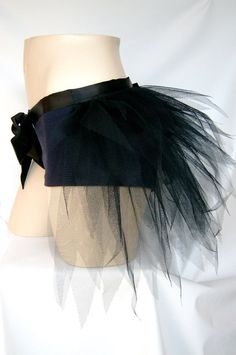 Hey, I found this really awesome Etsy listing at https://www.etsy.com/listing/154980359/black-half-tutu-bustle-halloween-punk