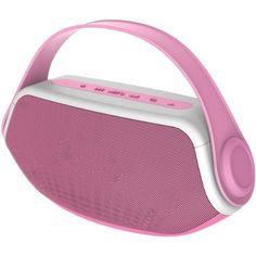 Karaoke Microphones Efficient Portable Wireless Microphone Pink Karaoke Player Bluetooth Speaker Usb And Digestion Helping Musical Instruments & Gear