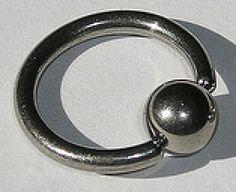 Materiales, joyas y tipos de piercings de nariz: Aros o rings