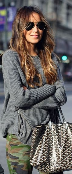12 Chic Ways to Wear Gray This Fall