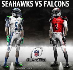 seahawks vs falcons #seahawks #falcons #playoffs #nfl