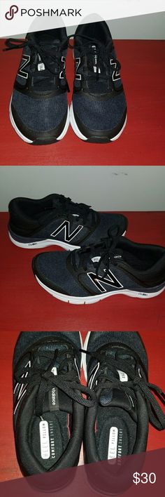 New Balance Cush+ Gently used new balance dark gray super stylish and very comfortable shoes. They are one of my favorites but I have a habit of buying shoes too small. So my loss your gain!! New Balance Shoes Athletic Shoes