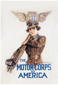 The Motor-Corps of America  by Howard Chandler Christy