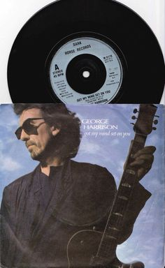 "GEORGE HARRISON Got My Mind Set On You 1987 Uk Issue 7"" 45 rpm Vinyl single music pop rock beatles 80s 1980s W1878 Free s&h"