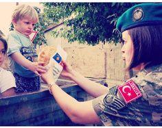 Turkish army soldiers in Kosova #turkish #soldier