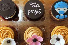 Cupcakes cumpleaños matrona. #cupcake #valparaiso #matrona