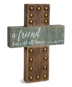 Adorn your home with a faith-inspired touch thanks to this rustic cross wall sign. Crosses Decor, Wall Crosses, Rustic Cross, Faith Scripture, Cross Art, The Cross Of Christ, Pyrography, Keepsake Boxes, Wall Signs