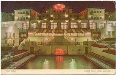 Postcard of the Butlin's Ocean Hotel in Brighton (now demolished)